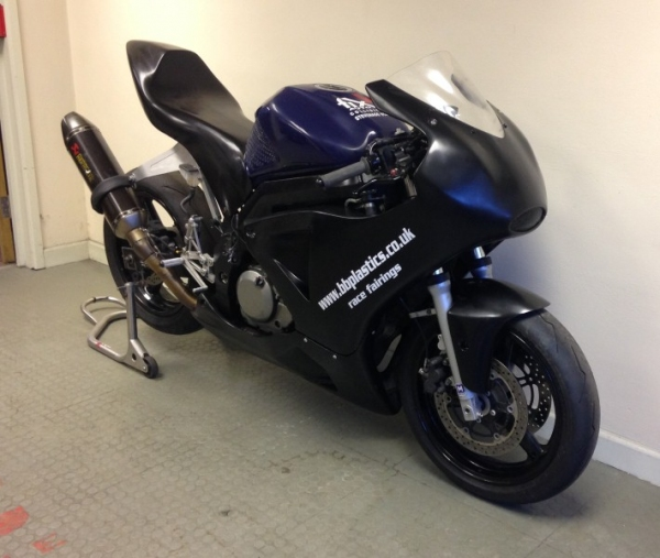 SV650 Moto2 race fairing kit